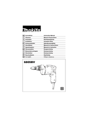 Makita 6805BV Manuals