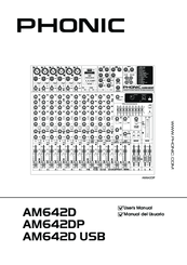 Phonic AM642D Manuals