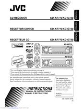 Jvc KD-AR770 Manuals