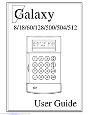 Honeywell Galaxy 60 Manuals