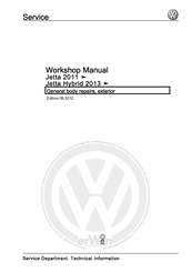 Volkswagen Jetta 2011 Manuals
