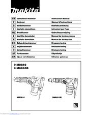 Makita HM0810B Manuals