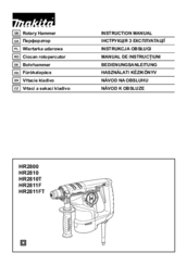 Makita HR2811F Manuals