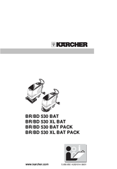 Karcher BD 530 BAT Manuals