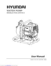 Hyundai HY40-2 Manuals