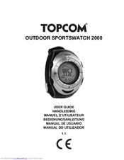 Topcom OUTDOOR SPORTSWATCH 2000 Manuals