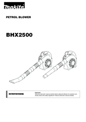 Makita BHX2500CA Manuals
