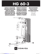Domyos HG 60-3 Manuals