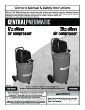 Central Pneumatic Air Compressor 8 Gallon Manual