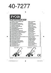 Ryobi RLM140SP Manuals