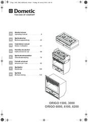 Dometic ORIGO 3000 Manuals