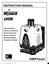 Cst Berger Lasermark Wizard LM30 Manuals