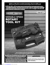 Chicago Electric Power Tools Manuals