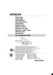 Hitachi CS51EAP Manuals
