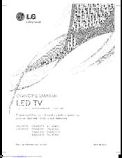 Lg 42LN5400 Manuals