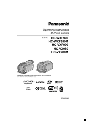 Panasonic HC-VXF990 Manuals