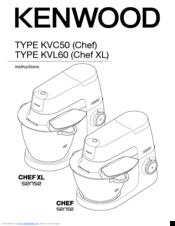Kenwood KVL60 Chef XL Manuals