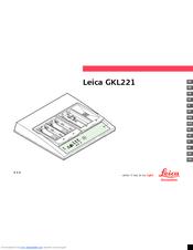 Leica GKL221 Manuals