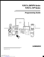 Ademco VISTA-20P Series Manuals