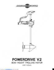 Minn Kota POWERDRIVE V2 Manuals
