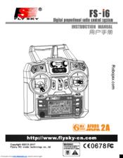 Fly Sky FS-i6 Manuals