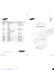 Samsung UA60ES8000 Manuals
