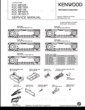Kenwood KDC MP7028 Manuals