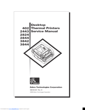 Zebra TLP 3842 Manuals