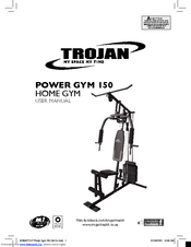 Trojan POWER GYM 150 Manuals