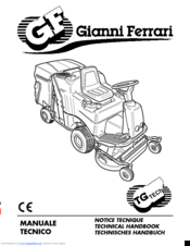 Gianni Ferrari TG TECh Manuals