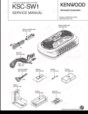 Kenwood KSC-SW1 Manuals