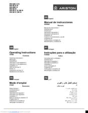 Ariston FH 52 IX S Manuals