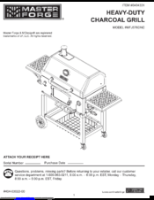 Master Forge MFJ576DNC Manuals