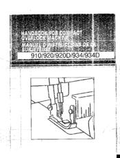Brother 920D Manuals