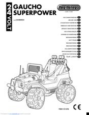 Peg-perego GAUCHO SUPERPOWER Manuals