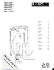 Karcher HD 6/16 ST Manuals