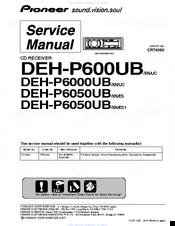pioneer radio manual simple wan diagram deh p600ub premier cd manuals we have 4 available for free pdf download service operation
