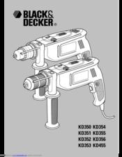 Black & Decker KD561 Manuals