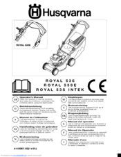 Husqvarna Royal 53S INTEK Manuals