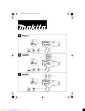 Makita HG651C Manuals