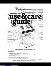 Whirlpool RS670PXK Manuals