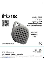 Ihome iBT82 Manuals