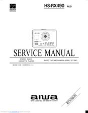Aiwa HS-RX490 Manuals