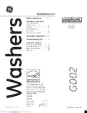 Ge GTW460 Manuals