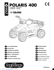 Polaris Sportsman 400 Manuals