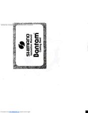 Shimano bantam 100 Manuals