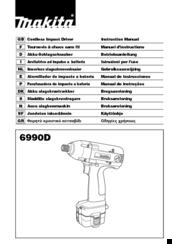 Makita 6990D Manuals
