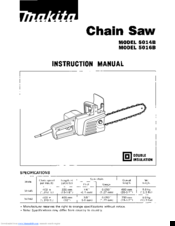 Makita 5014B Manuals