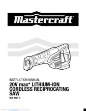 Mastercraft 054-8151-4 Manuals