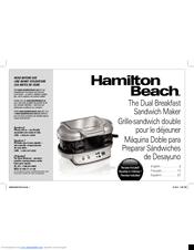 Hamilton Beach 25490 Manuals